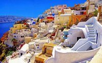Colourfull Santorini
